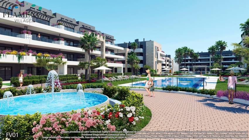 Appartement - Nouvelle construction - Playa Flamenca - Playa Flamenca