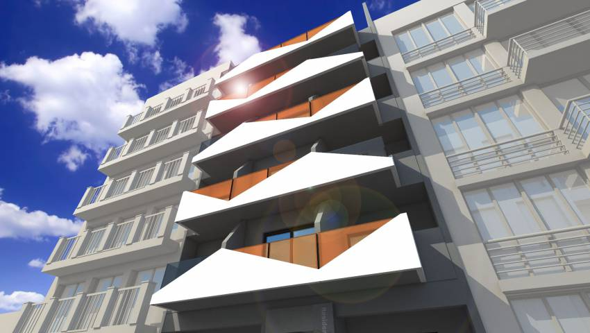 Appartement - Nouvelle construction - Torrevieja - Playa de los Locos