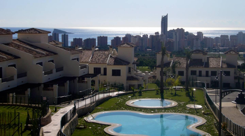 Ref:VB-984K Semi-Detached Villa For Sale in Finestrat