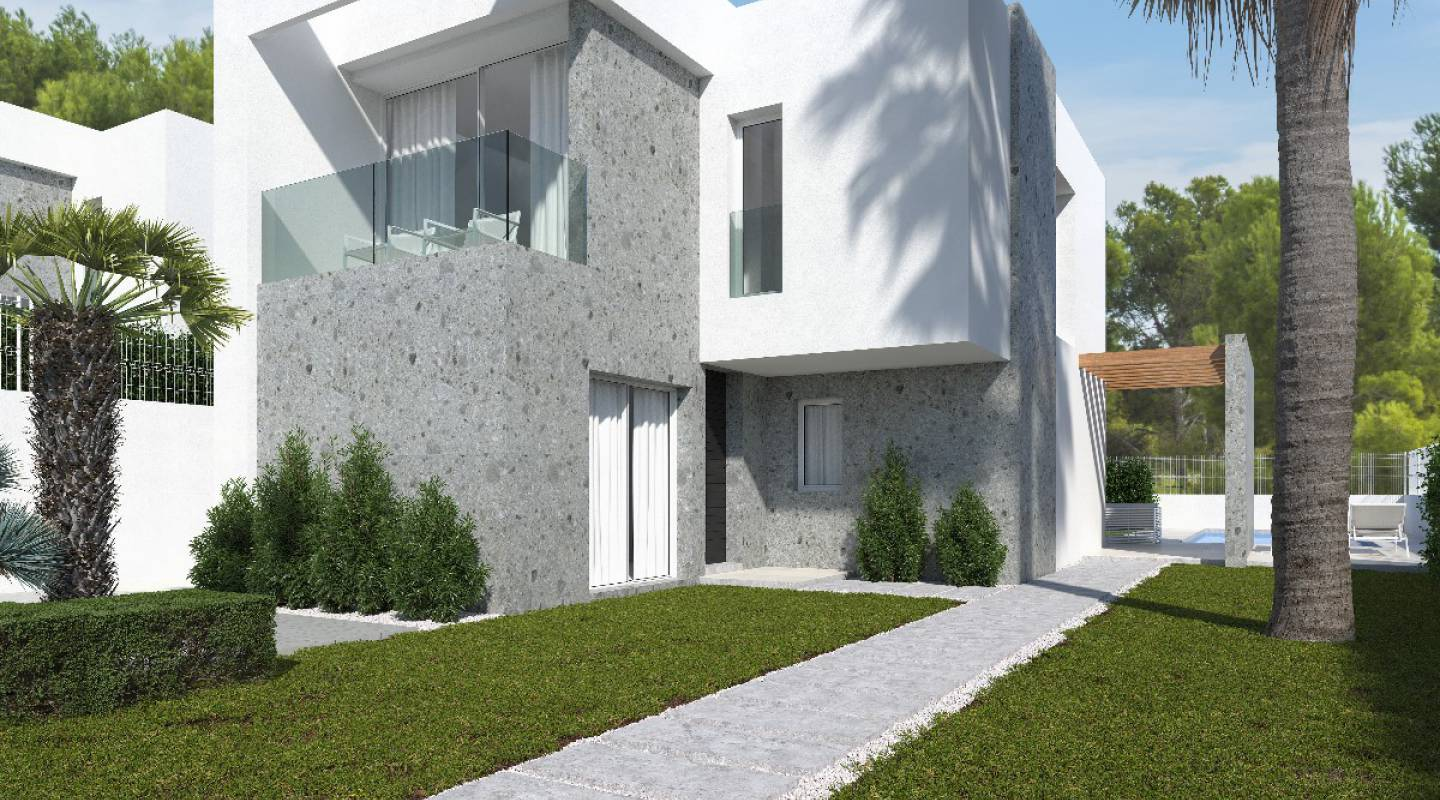 Neubau - Semi-Detached Villa - Finestrat