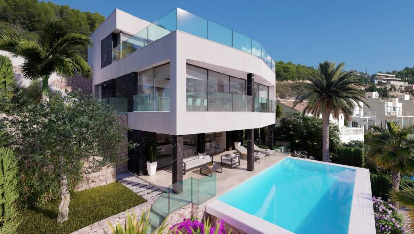 Ref:54765 Villa For Sale in Calpe